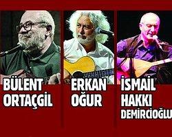 Garaj İstanbul'da Ortaçgil, Erkan Oğur Ve İsmail Hakkı Demircioğlu Konseri