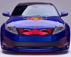 Kıa'dan Batman ve Superman Temalı Arabalar
