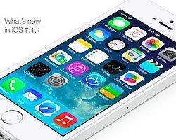 Apple İOS 7.1.1 Güncellemesini Yayınladı