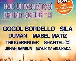 Gogol Bordello ve Triggerfinger Koç Üniversitesi Bahar Şenliklerinde Sahne Alacak