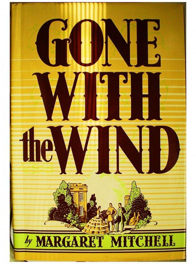 16- Margaret Mitchell - Rüzgar Gibi Geçti