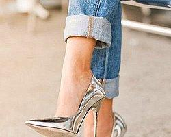 Metalik Ayakkabı Modası