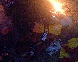 F.Bahçe Taraftarı Gs Store'u Yağmaladı!