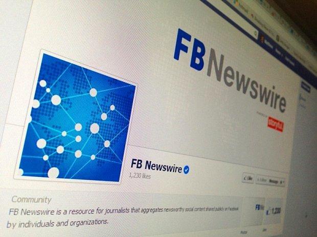 Facebook, Sonunda Haber Ajansı da Oldu!