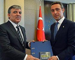 """""""Adalete Fener Yak"""" İmzaları Cumhurbaşkanı Gül'de"""