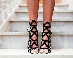 Yeni Trend; Mesh Cut-Out Bootie