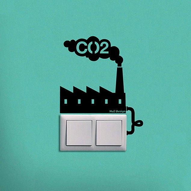 8.Enerji tasarrufunun önemini çocuklara hatırlatmak için çıkartmalar