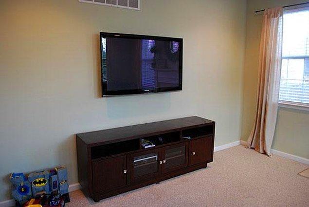 12.Kullanmadığımız zamanlarda TVyi resimle kapatma