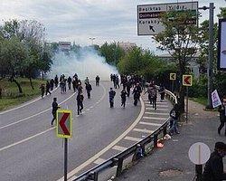 İstanbul Tabip Odası'ndan Biber Gazı Pankartı