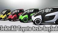 Elektrikli Toyota İ-Road Testlere Başladı