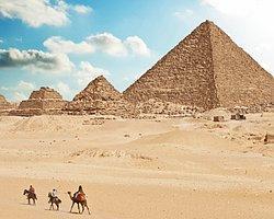 Piramitler Su Yardımı İle İnşa Edilmiş