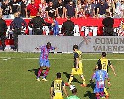 Atletico Madrid Maçında Skandal