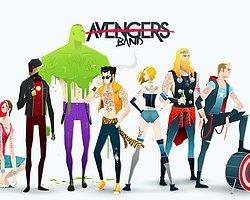 Süper Kahramanların Süper Rock Grupları
