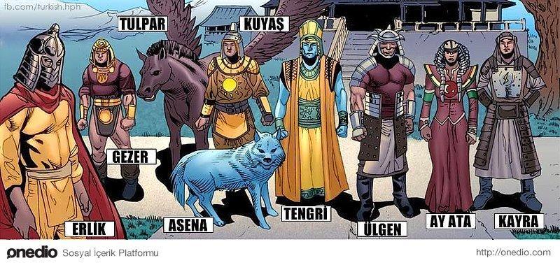 türk mitolojisi ile ilgili görsel sonucu