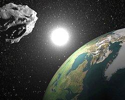 Asteroid Dünya'yı Sıyırıp Geçti