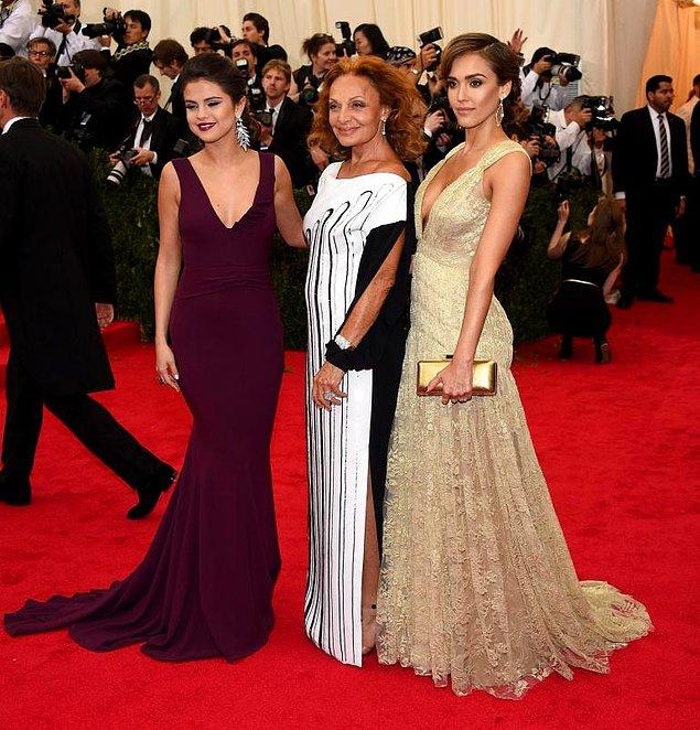 Selena Gomez, Diane Von Furstenberg ve Jessica Alba