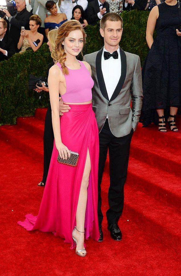 Emma Stone ve Andrew Garfield