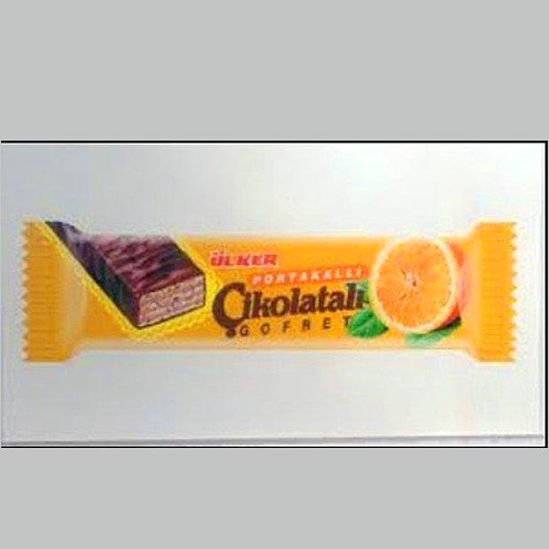 Ülker Portakal Çikolatalı Gofret