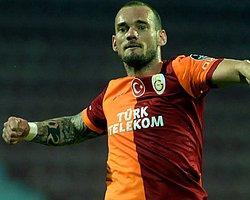 "Sneijder: ""Hadi İyi Akşamlar..."""
