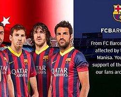 Barcelona Başsağlığı Mesajı Yayınladı