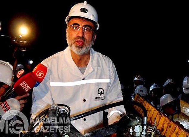 """1. Soma'daki maden kazasını siyaset malzemesi yapmayın diyenler, bundan dokuz ay önce o madenin girişinde """"dünyaya örnek maden yaptık"""" diye siyasetin dibine vurmamalıydı"""