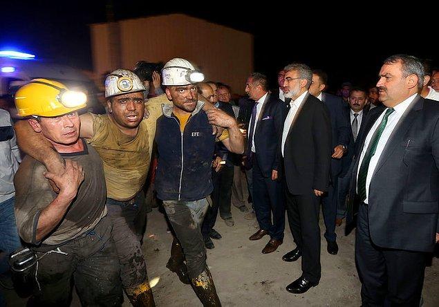 9. Bakan bey madenden arkadaşlarının desteğiyle çıkan işçileri uzaktan izlemekle yetinmemeliydi
