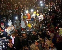 Soma'da Yangın Söndürüldü, Ekipler İşçileri Çıkarmak İçin Madene Girdi