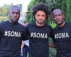 Soma'ya Tişörtlü Destek