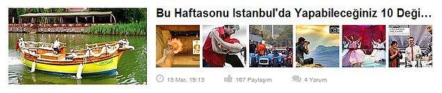 4. Grupanya - Bu Haftasonu İstanbul'da Yapabileceğiniz 10 Değişik Aktivite