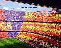 447 Atleticolu Tarihe Tanıklık Etti