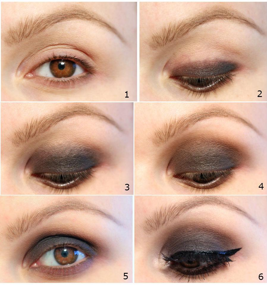 Easy eye makeup for