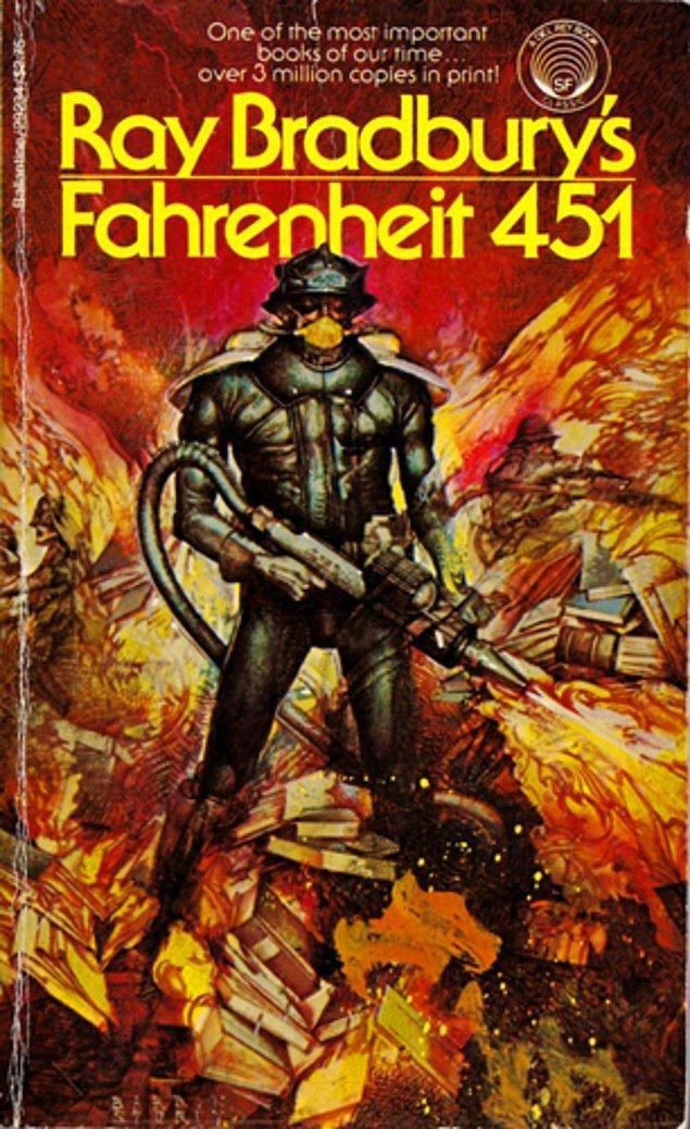 5. Fahrenheit 451 - Ray Bradbury