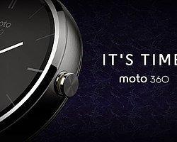 Motorola'nın Akıllı Saati Moto 360′ın Fiyatı Belli Oldu