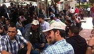 Soma'da Maden İşçilerinin Oturma Eylemi Dördüncü Gününde