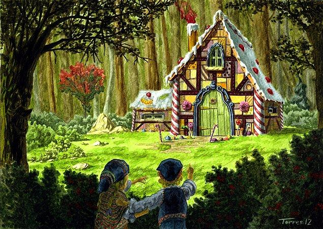 4. Hansel ile Gretel