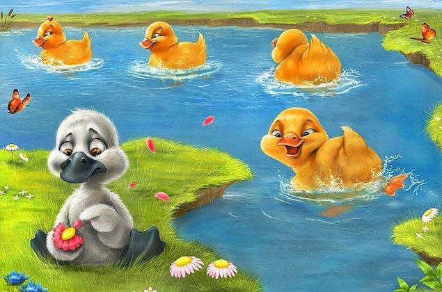 6. Çirkin ördek yavrusu