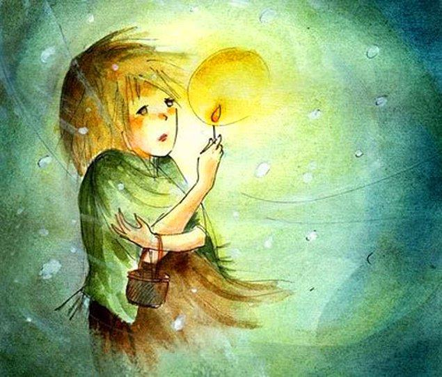 7. Kibritçi kız