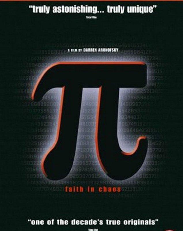 10. Pi (1998) / Yön.: Darren Aronofsky