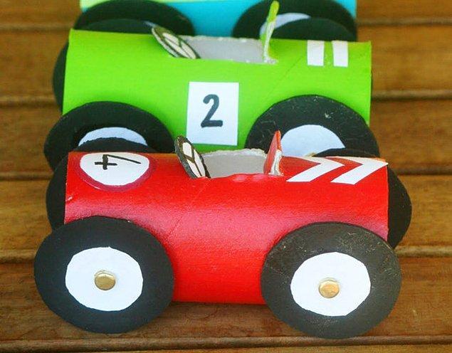10. Yarış Arabaları
