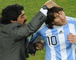 """Messi: """"Maradona'yı Kıskanıyorum"""""""