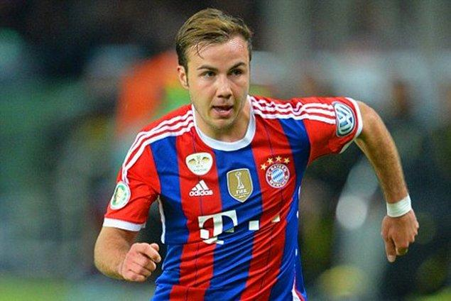 3. Mario Gotze (Bayern Munich)