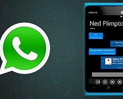WhatsApp Yeni Güncellemesi ile Windows Phone Mağaza'ya Döndü