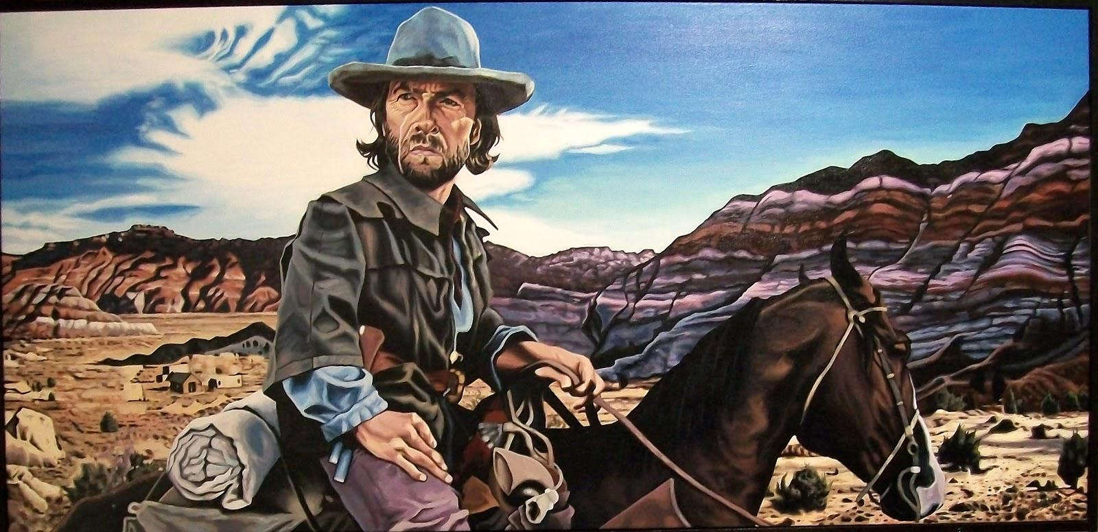 The Outlaw Josey Wales Painting - 0425