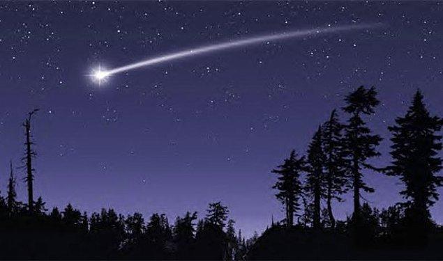 7. Yıldız kayarken dilek tutmak