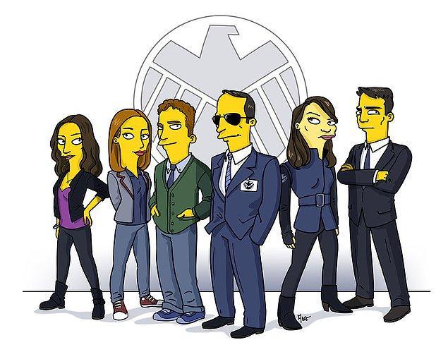 2. Marvel'ın S.H.I.E.L.D Ajanları.