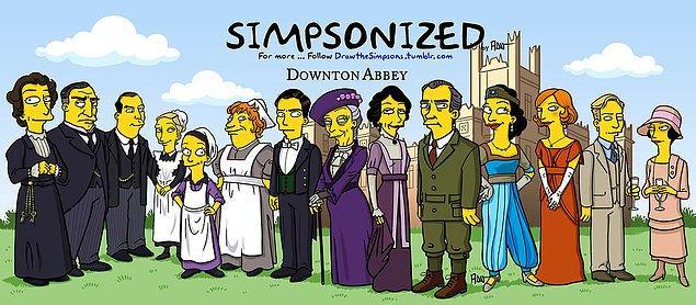 12. Downton Abbey