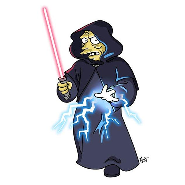 15. Star Wars'tan Darth Sidious