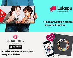 Lukapu'dan Babalar Günü Kampanyasıyla %15 İndirim