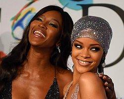 Rihanna yine  törenin önüne geçti