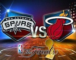 NBA'de Finalin Adı Yeniden Spurs-Heat